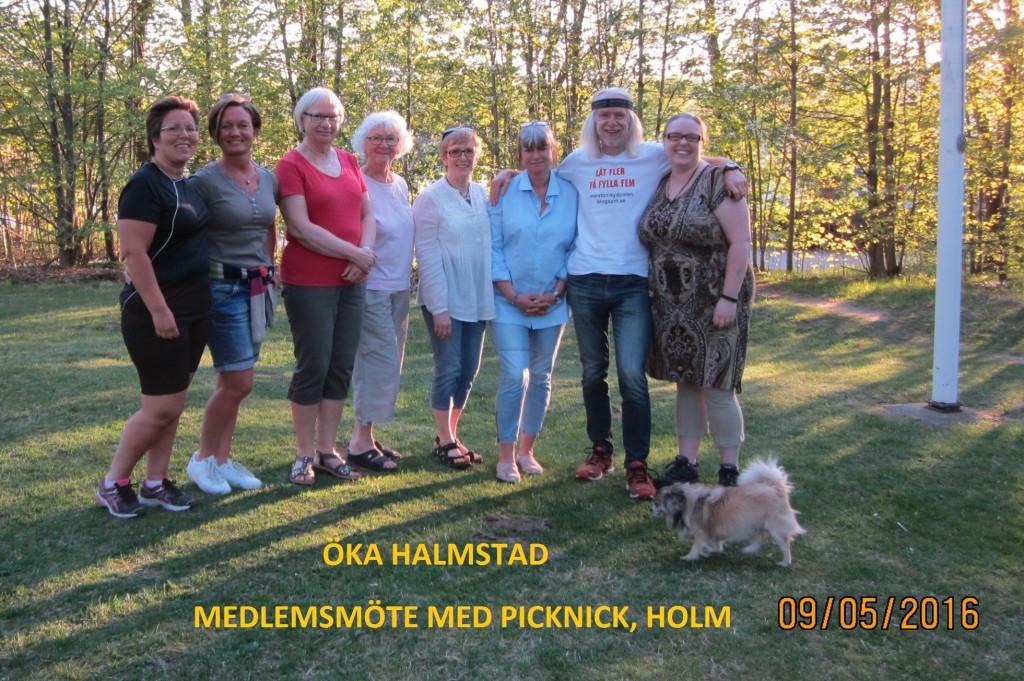 Medlemsmöte ÖKA Halmstad 160509